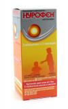 Нурофен 100 мг/5 мл, 100 мл, сусп., клубника