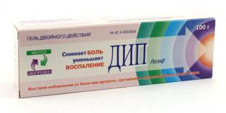 Дип Рилиф 100 гр, гель