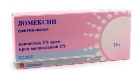 Ломексин 2% 78 гр, крем вагин. в тубе