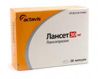 Лансет 30 мг, №28, капс.