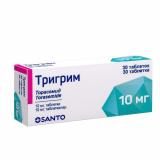 Тригрим 10 мг № 30 табл.