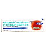 Флуцинар 0,025%, 15 гр, гель