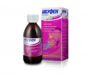 Ибуфен 100 мг/ 5 мл  100 мл суспензия для приема внутрь