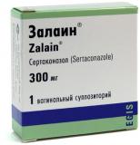 Залаин 300 мг, №1, ваг. свечи