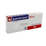Диротон 10 мг № 28 табл