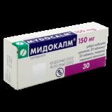 Мидокалм 150 мг № 30 табл п/плён оболоч