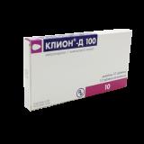 Клион-Д  100 мг № 10 вагин. табл.