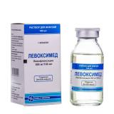 Левоксимед 500 мг 100 мл р-р для инфузий