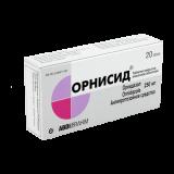 Орнисид 250 мг № 20 табл