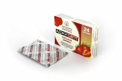 Аджисепт со вкусом клубники № 24 леденцы