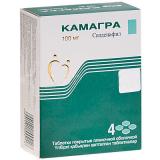 Камагра 100 мг № 4 табл п/плён оболоч