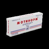 Мотинорм 10 мг № 30 табл