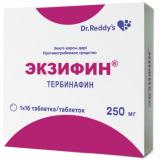Экзифин 250 мг, №16, табл.