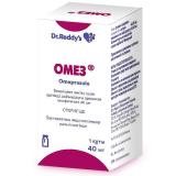 Омез 40 мг № 1 порошок для приготовления раствора для инъекций