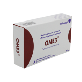 Омез 10 мг № 30 капс  покр кишечнораст оболочкой
