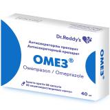 Омез 40 мг № 28 капс  покр кишечнораст оболочкой