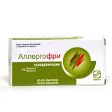Аллергофри 5 мг, №10, табл.