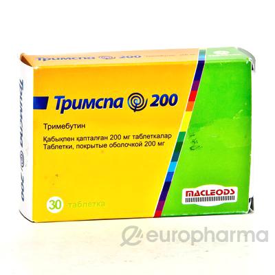 Тримспа 200 мг, №30, табл.