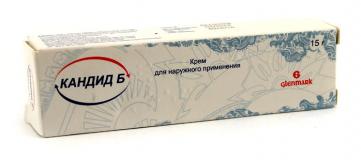 Кандид-Б 15 гр, крем, (для наружного применения)