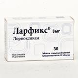 Ларфикс 8 мг, №30, табл.