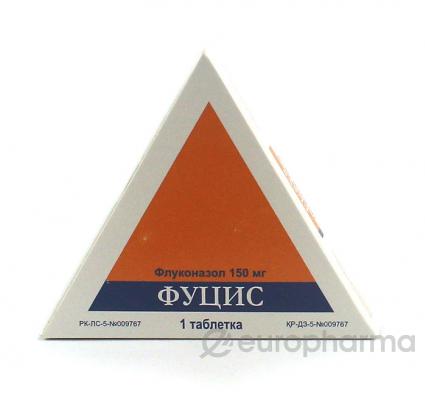 Фуцис 150 мг, №1, табл.