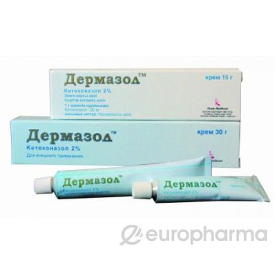 Дермазол 2%, 30 гр, крем