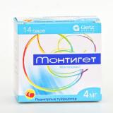 Монтигет 4 мг № 14 саше