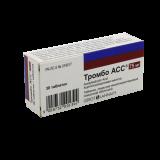 Тромбо АСС 75 мг № 30 табл покр кишечнораст оболочкой