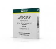 Артрозан 6 мг №3 амп