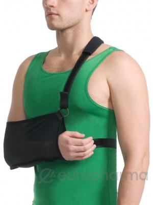 Бандаж для руки поддерживающий с дополнительной фиксацией MedTextile арт 9912 L черный