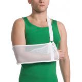Бандаж для руки поддерживающий с дополнительной фиксацией MedTextile арт 9912 M белый