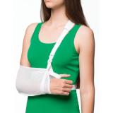 Бандаж для руки поддерживающий с дополнительной фиксацией MedTextile арт 9912 XL белый