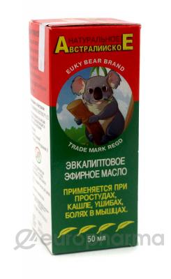 Кызыл Май масло звкалиптовое 50 г