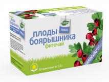 Боярышника плоды 2,5 гр, №20, фито чай, Planta Natura