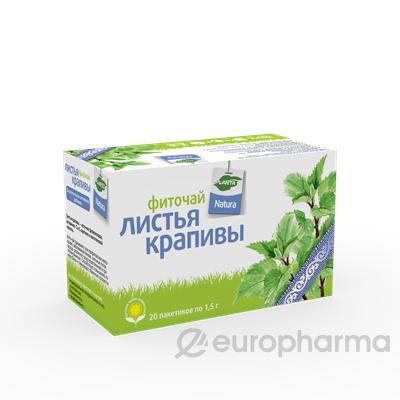 Крапива 1,5 гр, №20, фито чай, Planta Natura