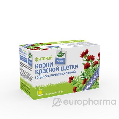 Красная щетка 1 гр № 20 фито чай