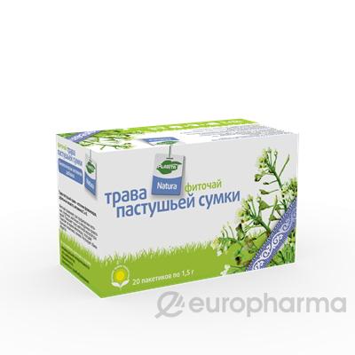 Пастушья сумка трава 1,5 гр, №20, фито чай, Planta Natura
