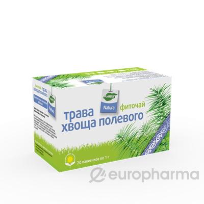 Хвощ трава 1 гр, №20, фито чай, Planta Natura