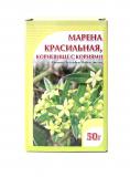 Марена красильная корневища с корнями 30 гр, фито чай