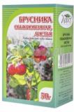 Брусники лист 25 гр, фито чай, Белла