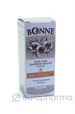 """Льняное масло """"Bonne"""" 100 мл"""