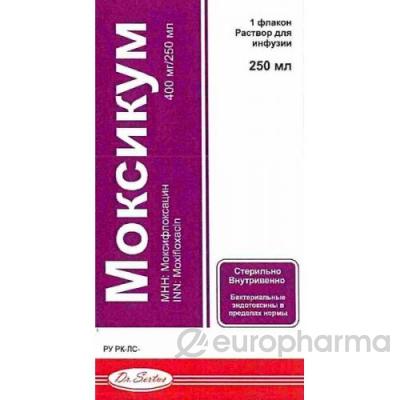 Моксикум 400 мг/250 мл №1 раствор для инфузий