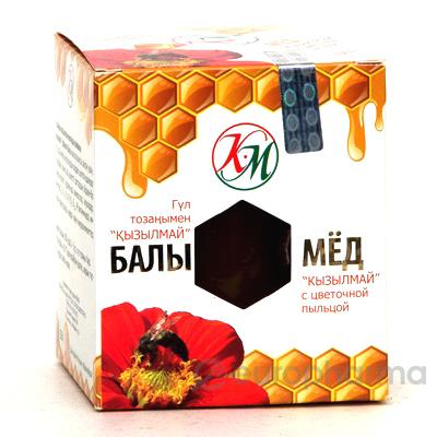 Мед с цветочной пыльцой 225 гр