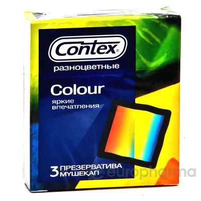 През-вы Contex Colour №3, (разноцветные)