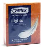 Презервативы Contex  Lights №3, (особо тонкие)