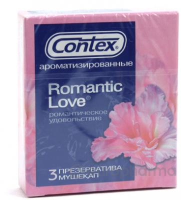 Презервативы Contex Romantic №3, (со вкусом и запахом)