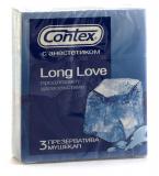 Contex презервативы Long Love № 3 шт