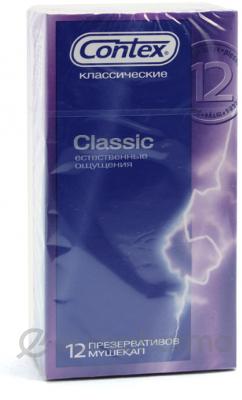 Презервативы Contex Classic №12, (классические)