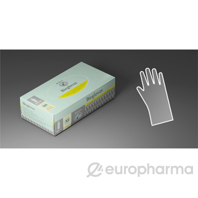 Перчатки латекс хирург. Biogloves (7,5) стер