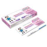 Экспресс-тест(полоска) для диагности периода овуляции №5+экспресс-тест(полоска) для диагн беремен №1